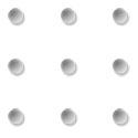 Connect 9 dots with four lines